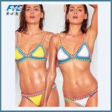 Индивидуальные наклейки с логотипами Sexy женщина в бикини пляж надевайте купальный костюм