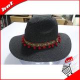 Chapéu de palha de papel do Fedora de Sun Panamá da palha