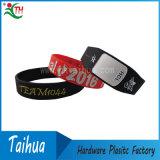 Wristband del braccialetto del silicone riempito inchiostro di Debossed (TH-band042)