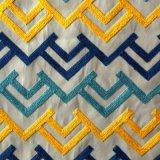 Sofà della tappezzeria della tessile e tessuto ricamati dell'ammortizzatore