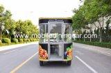 Remorque de /Mobile de chariot de nourriture de roues avec Quaiity élevé à vendre