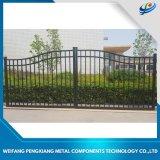 As portas de alumínio modernas e vedações/porta metálica barata/lindo design da porta de aço para venda