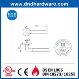 Punho de alavanca de porta de fundição sólida com classificação de fogo
