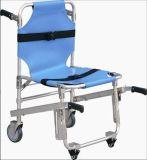 (MS-S220) liga de alumínio Maca Dobrável Paciente escada rolante cadeira maca