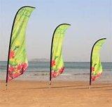 De aangepaste Vliegende Vlag van het Strand voor Reclame/Gebeurtenis/Bevordering