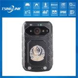 4G Caméra vidéo d'usure du corps de garde de sécurité de la police
