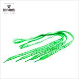Lacet coloré plat personnalisé de sublimation de lacet de chaussure de tube