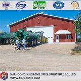 Sinoacme門脈フレームの鉄骨構造の農業の倉庫