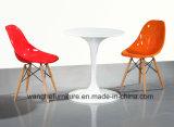 Tavolino da salotto rotondo moderno di vetro Tempered 621