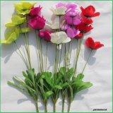 Barato falsos FLORES ARTIFICIALES flores de seda para el hogar decoración de boda