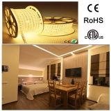 5050 IP67 impermeabilizan la tira flexible de 110V 120V LED para la decoración al aire libre/de interior