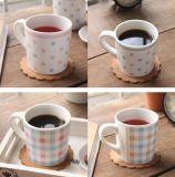 Mini taza de cerámica de la venta caliente con diseño del PUNTO