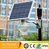 luz solar al aire libre integrada 18W para el jardín, cuadrado, iluminación de la plaza