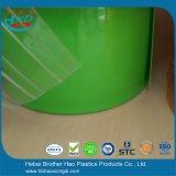 2mm厚い緑の不透明で適用範囲が広いPVCドア・カーテンのストリップ