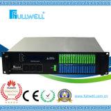 Wdm EDFA de los accesos FTTX de Fullwell 32 con cada acceso 17dBm para Gpon (FWAP-1550H-32X17)