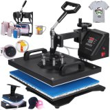 Hot Press - 8 en 1 - Calor Digital multifunción Pulse T-Shirt 1250W