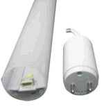 アルミニウムケースのパソコンカバードライバー取り外し可能な60cm 9W T8管LEDの照明