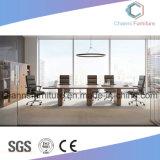 方法木の机のオフィス用家具の白い会合表