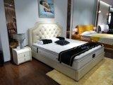 Самомоднейшая кровать половинной кожи типа мягкая (SBT-33)