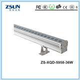 Indicatore luminoso impermeabile della rondella della parete del cubo IP65 LED della lega di alluminio