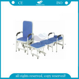 De 3-stukken van ag-AC004 Ce& ISO Qualified met Pillow Metal Folding Chairs met Padded Seats
