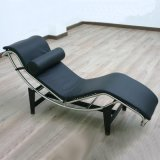 Mobiliário de designer Le Corbusier Chaise Espreguiçadeira