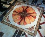 Polished золотистые плитки ковра пола фарфора для живущий комнаты