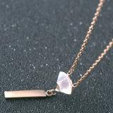 Shell van de Radiant van het Roestvrij staal van de Juwelen van de manier Gouden Halsband voor Vrouwen