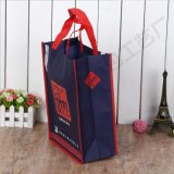 Mehrfachverwendbares Lebensmittelgeschäfttote-Einkaufen-Geschenk-Buch-Förderung-Firmenzeichen gedruckter nicht gesponnener Beutel
