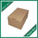Reciclar el rectángulo del cartón de Kraft