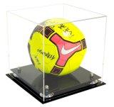 Bille de football carrée protégée UV de cas d'exposition de support de bille