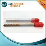 Moinhos de extremidade do carboneto HRC45-60 com 2/4 das flautas