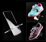 Affichage personnalisé des chaussures en acrylique de haute qualité avec logo pour Nike