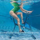 Bicicleta de exercício do capitão do Aqua do aço inoxidável da piscina
