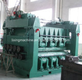 Máquina de estaca da folha do metal para a bobina de aço