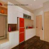 Gabinete de cozinha pequeno modular de venda superior do MDF com gabinete de parede