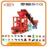 Semi-automatique machine à fabriquer des briques de ciment de blocs creux Prix d'interverrouillage