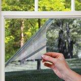 L'elettricità statica trasparente del vinile libero su ordinazione aderisce stampa della pellicola della finestra