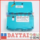 De Optische Reinigingsmachine van de Vezel van het Type van cassette Geschikt voor Schakelaar Sc/FC/LC
