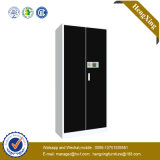 Puder-Beschichtung-Stahlmetallzahnstangen-Archivierungs-Metallschrank (HX-CD33)