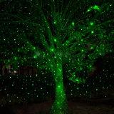 Chuveiro de estática da projeção da estrela dos lasers ao ar livre do Natal para a iluminação da árvore do jardim da jarda do partido de casa