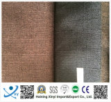 Polyester-materielles klassisches normales Leinengewebe für Sofas und Polsterung
