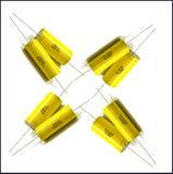 Capacitor metalizado axial do Polypropylene (Cbb20 825j/250V) com fio de cobre
