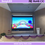 Afficheur LED de location polychrome mince de SMD pour l'étape visuelle