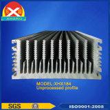 Chinesische Fabrik kundenspezifischer Entwurfs-Aluminiumstrangpresßling-Kühlkörper