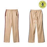 Uniforme da escola fatos de calças compridas, calças desportivas, uniforme da escola de calças