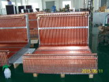 Kupfernes Gefäß-Aluminiumflosse-Kondensator für Kühlraum