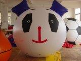 De openlucht Opblaasbare Vliegende Panda van de Reclame draagt Dierlijke Ballon