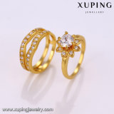 14303方法女性のための優雅な宝石類24kの金カラーリング