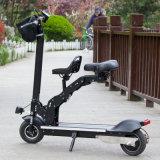 2つの車輪を2つのシートが付いている電気バイク8インチの折る